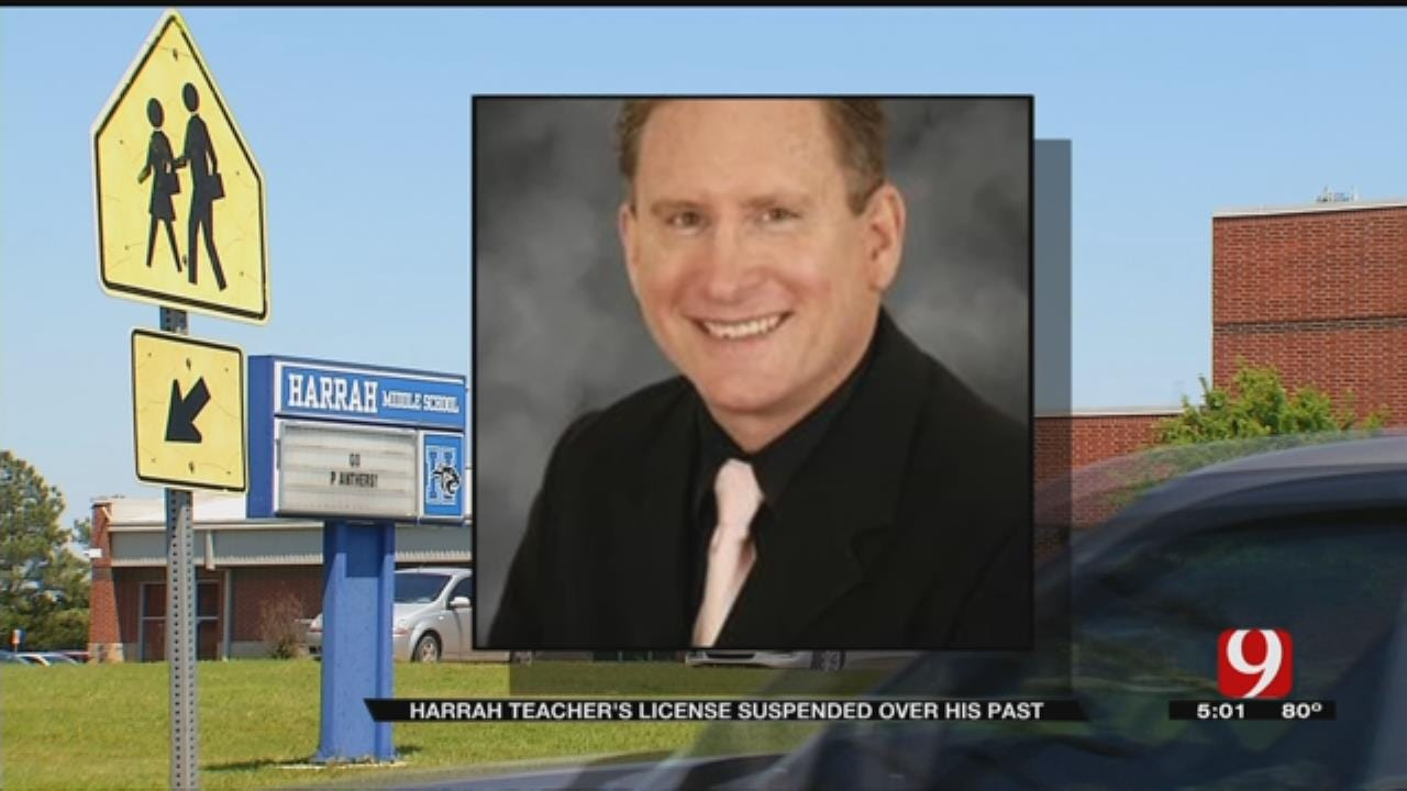 Harrah Middle School Teacher Resigns After State Board Of Education Suspends His License