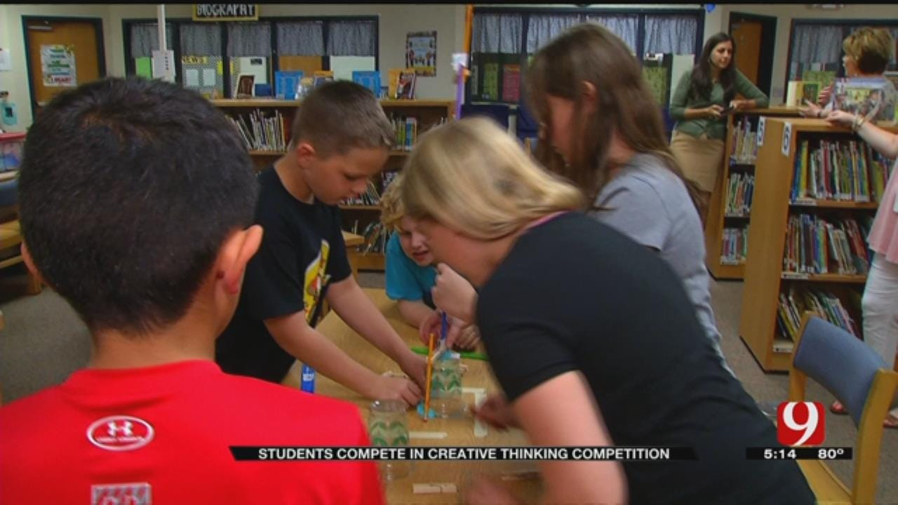 Ida Freeman's 'Odyssey Of The Mind' Team Competes In World Finals
