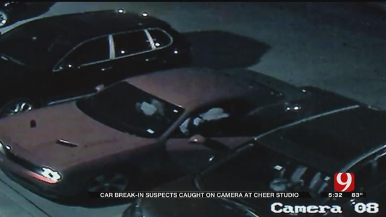 Cameras Capture 'Smash And Grab' Car Burglary In NW OKC