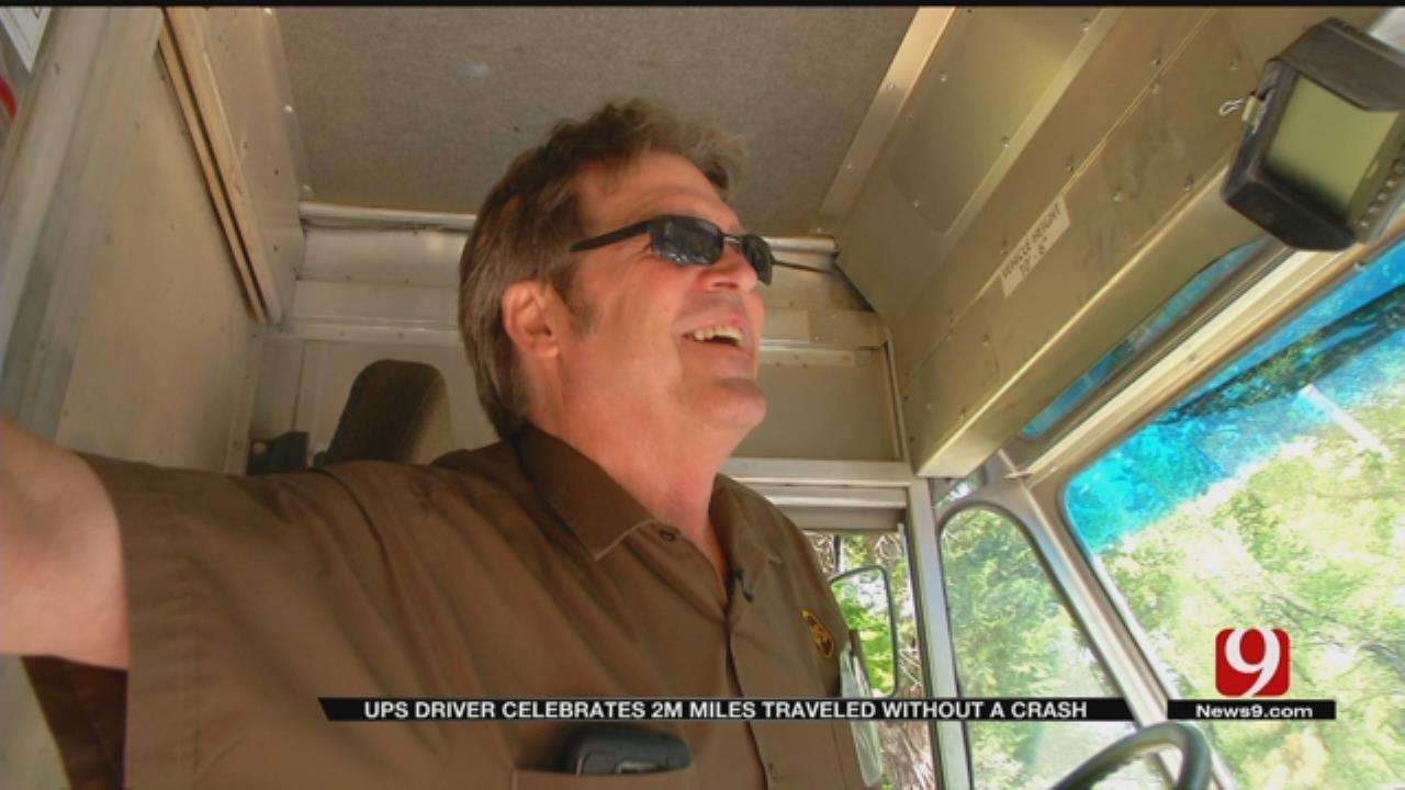 Oklahoma UPS Driver Reaches Career Milestone