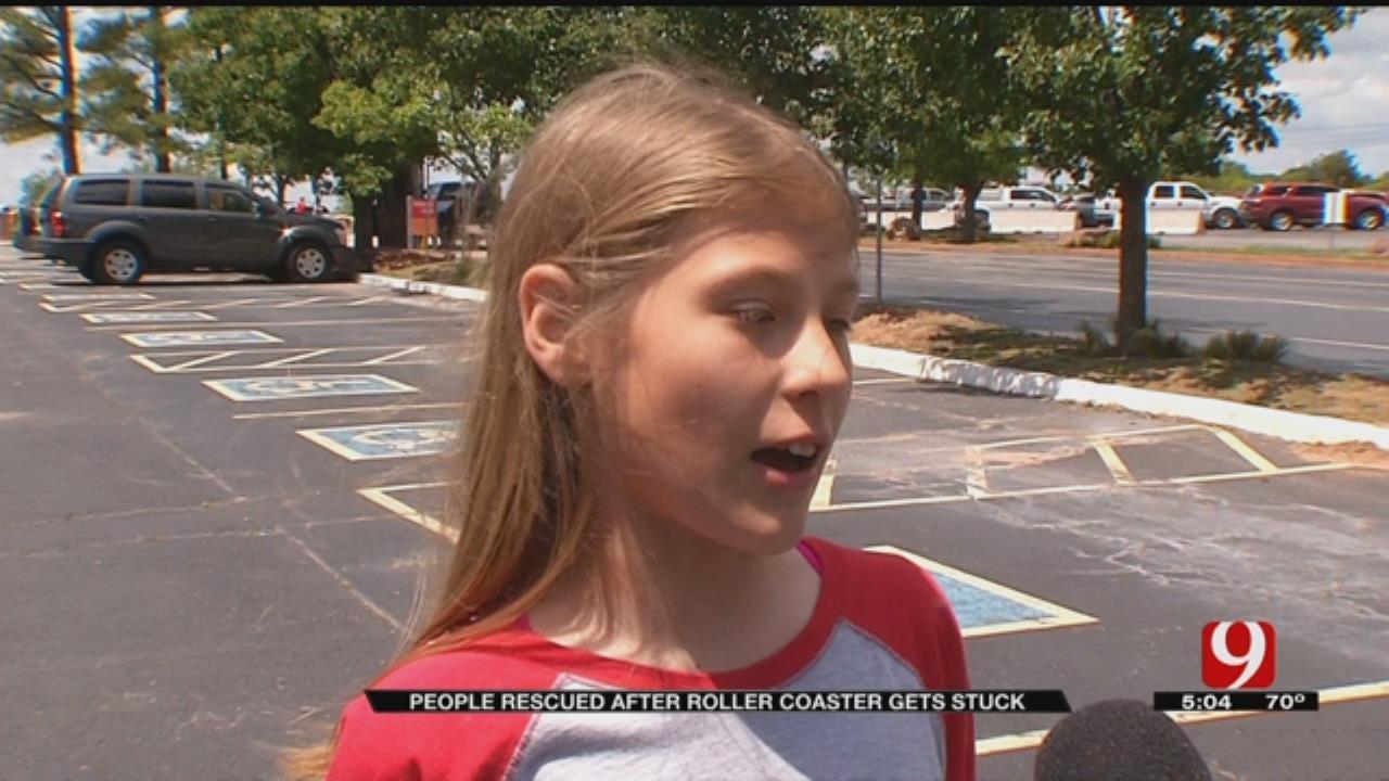 Kids Stuck On Frontier City Roller Coaster Talk To News9