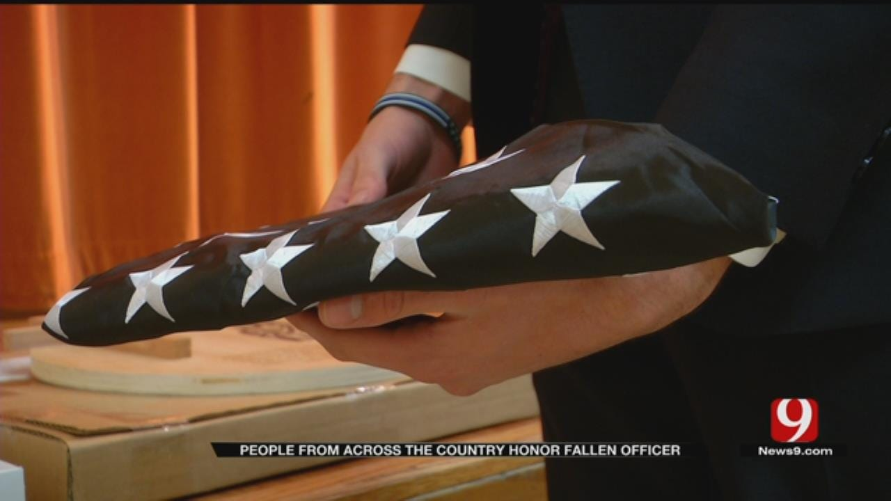 WEB EXTRA: People From Across The Country Honor Fallen Officer