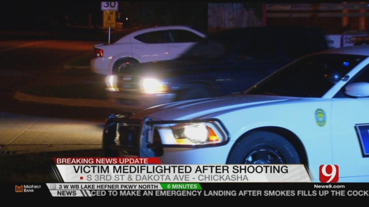 One Injured In Chickasha Shooting