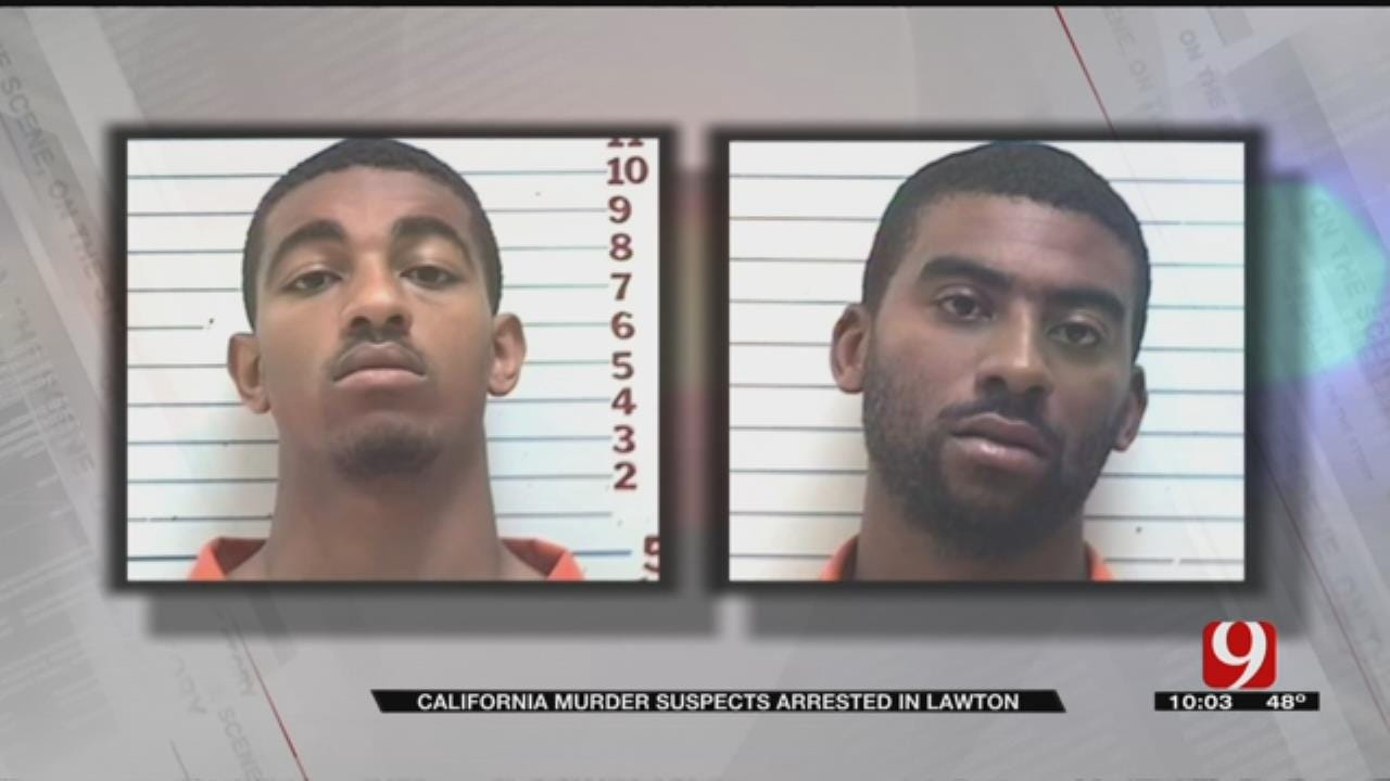 FBI Agents Arrest LA Murder Suspects In Lawton