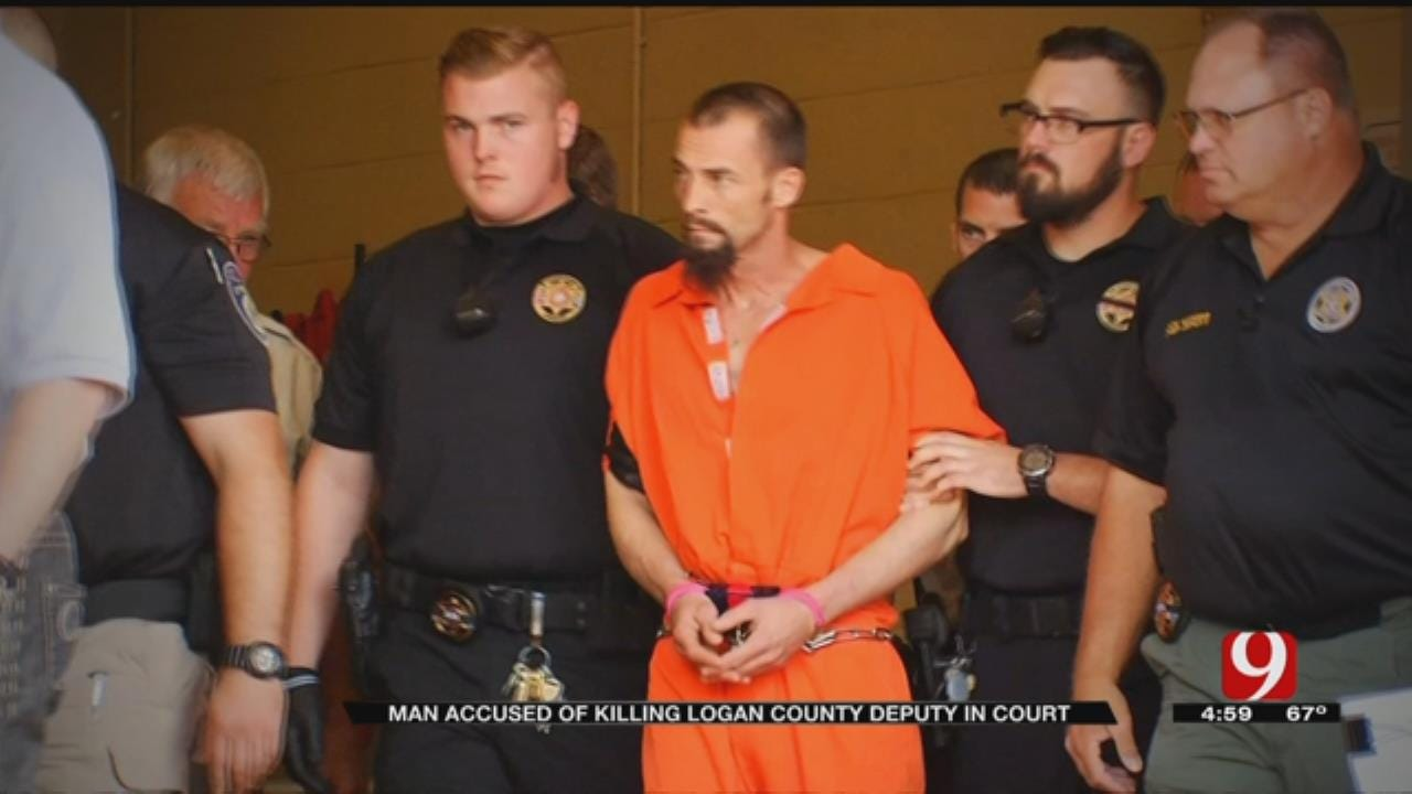 Suspect Accused Of Killing Logan Co. Deputy Appears In Court