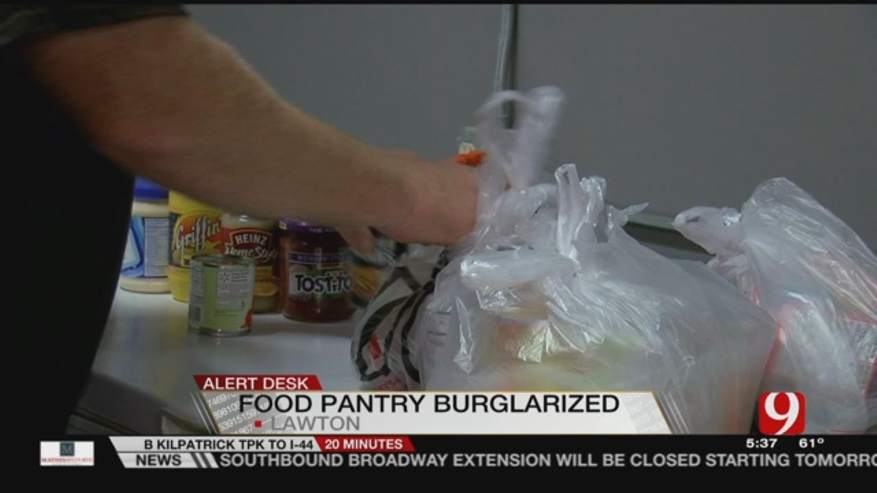 Lawton Ministry Needs Restocking After Thief Steals Food, Clothes