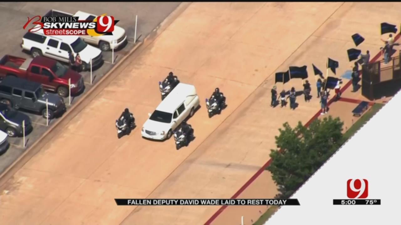 Funeral Services Held For Fallen Logan County Deputy David Wade