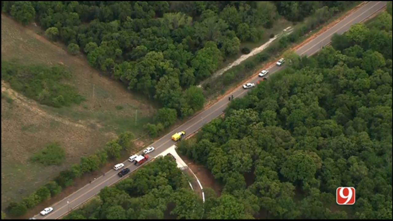 WEB EXTRA: SkyNews 9 Flies Over Deadly Officer-Involved Shooting In Logan County