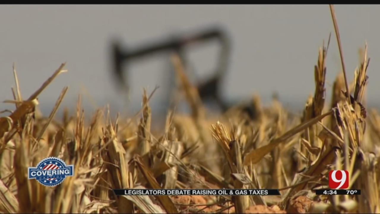 State Legislators Debate Raising Taxes On Oil, Gas