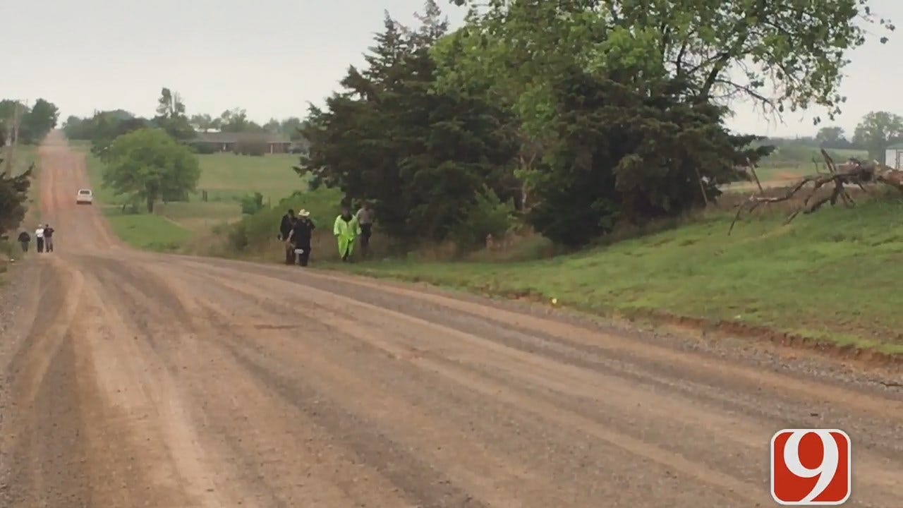 WEB EXTRA: Authorities Search For Gun Used In Deadly Logan County Shooting