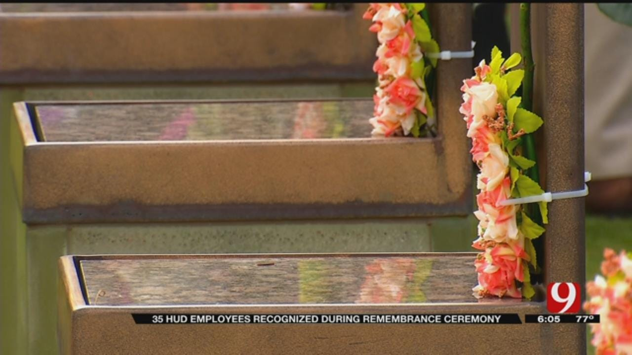 HUD Employees Remembered At OKC National Memorial Ceremony