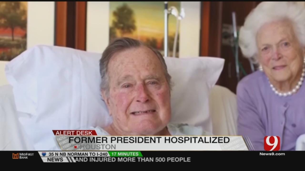 Former Pres. George H.W. Bush Hospitalized
