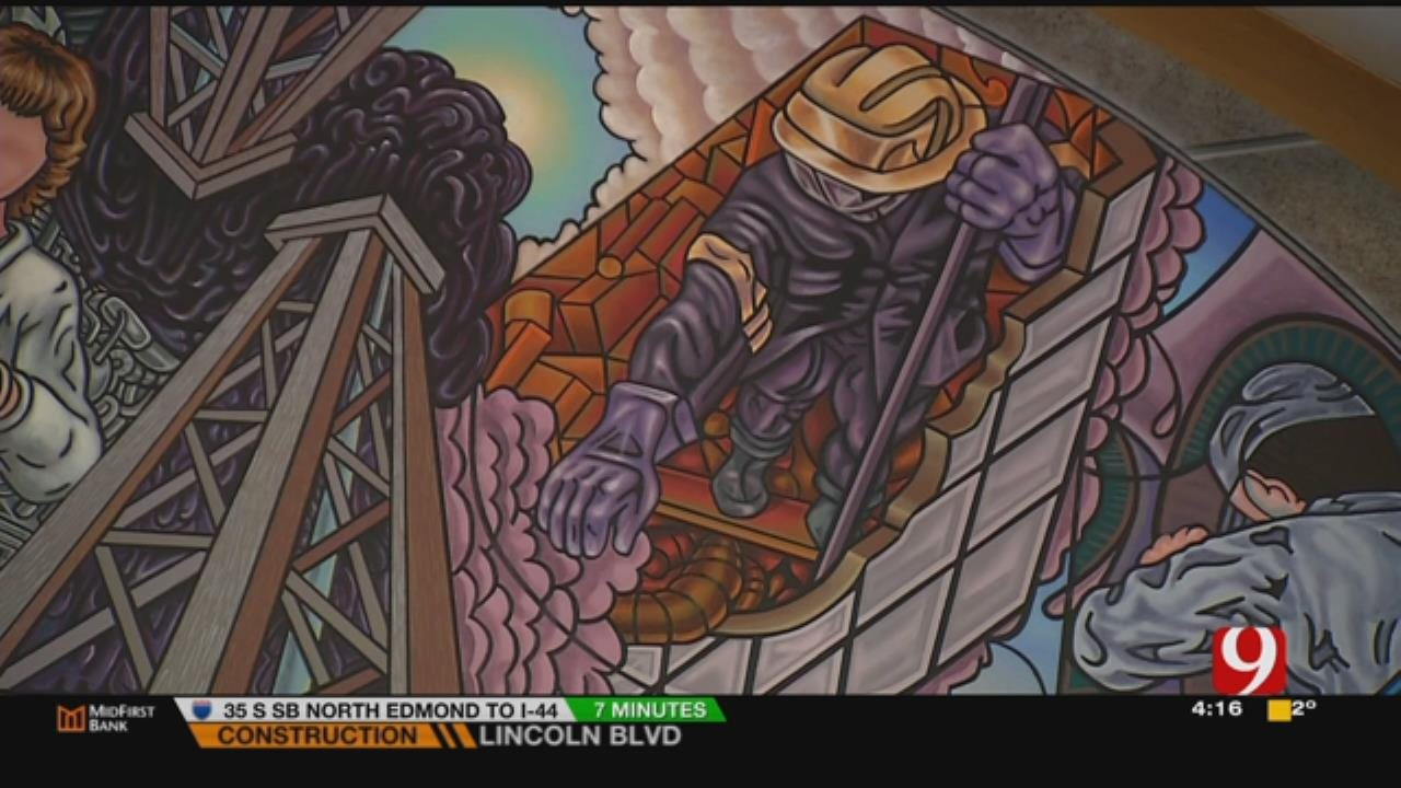 Little Known Corner Of Capitol Mural Honors OKCFD