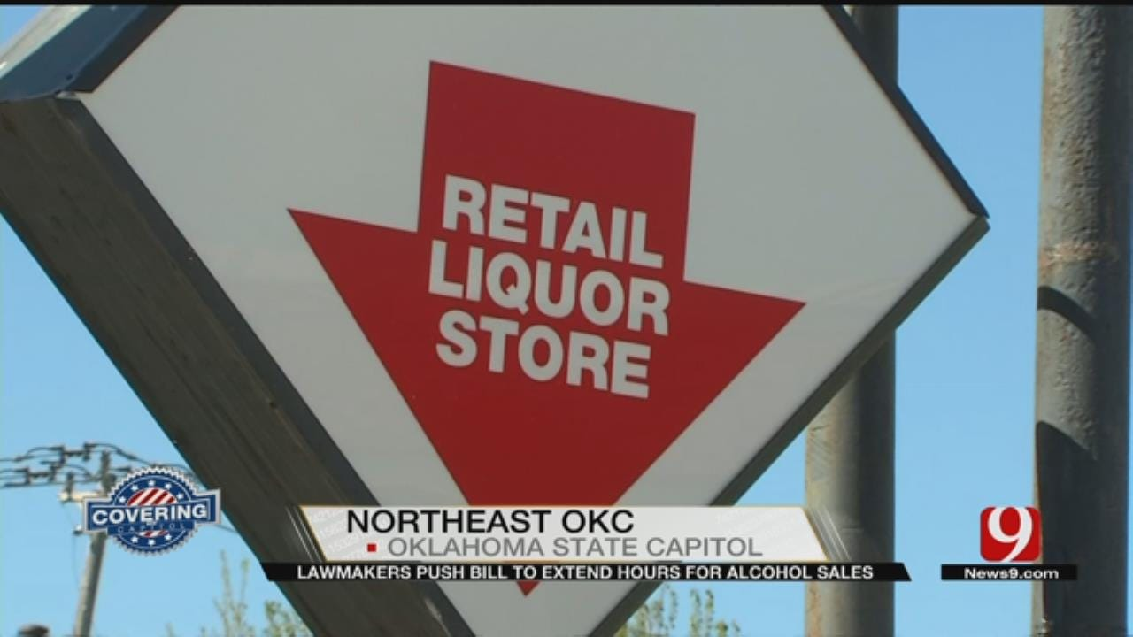 Oklahoma Lawmakers Push To Extend Hours For Alcohol Sales