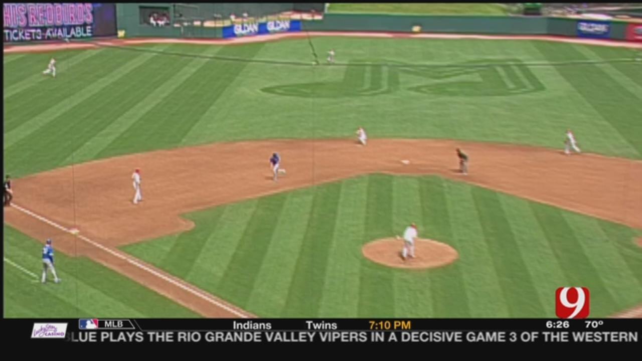 Redbirds Snap Dodgers' Five-Game Winning Streak