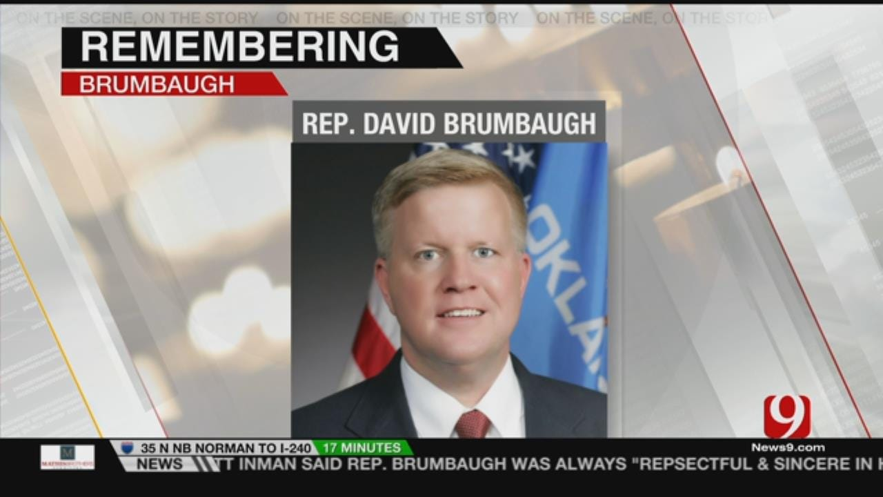 Lawmakers Remember Late Colleague