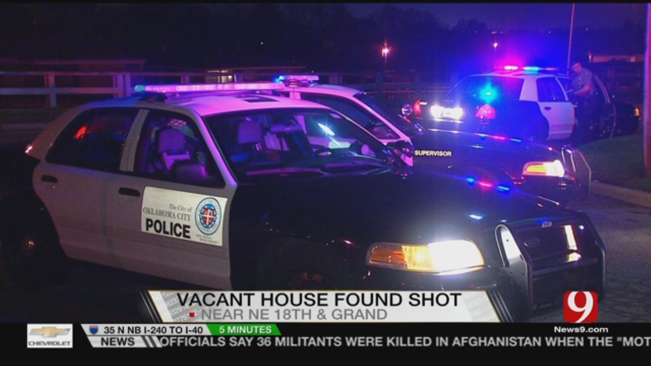 Home Shot Up Overnight In NE OKC