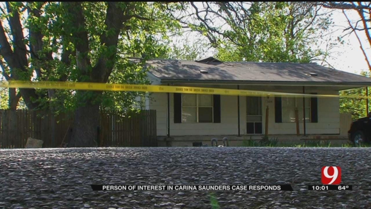 Person Of Interest In Carina Saunders Case Responds To News 9