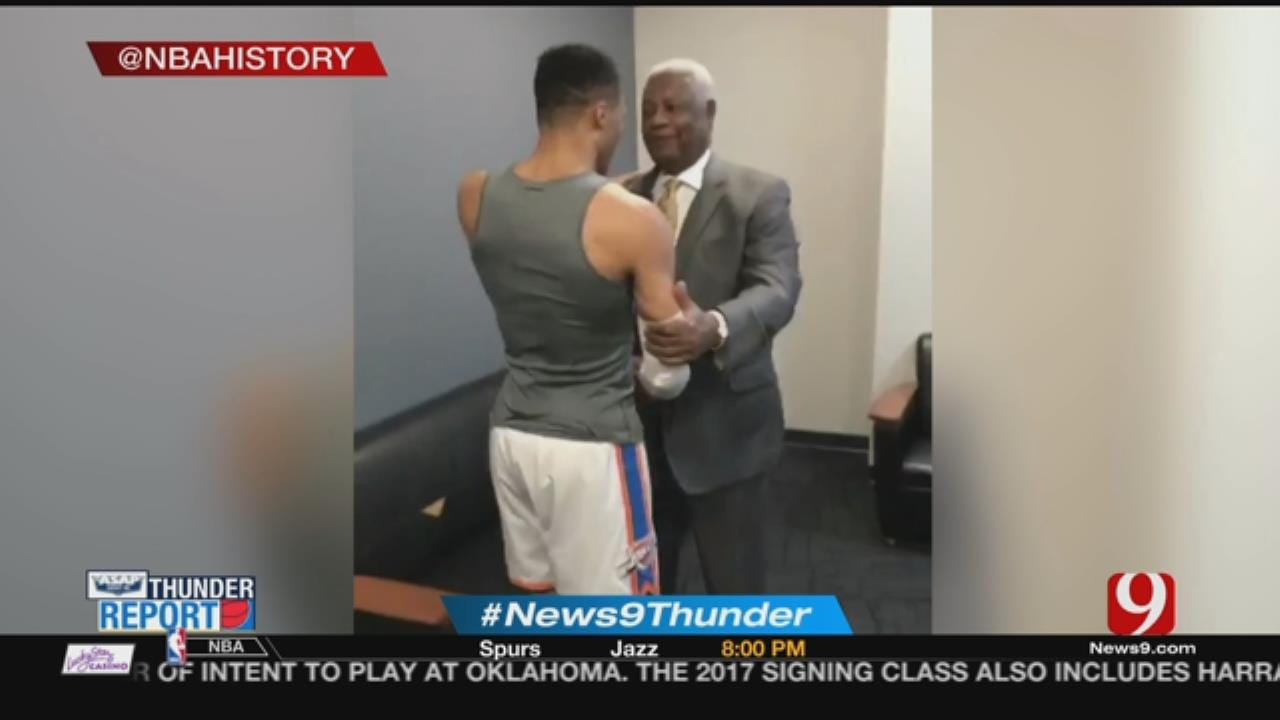 Oscar Robertson In OKC To Honor Russell Westbrook