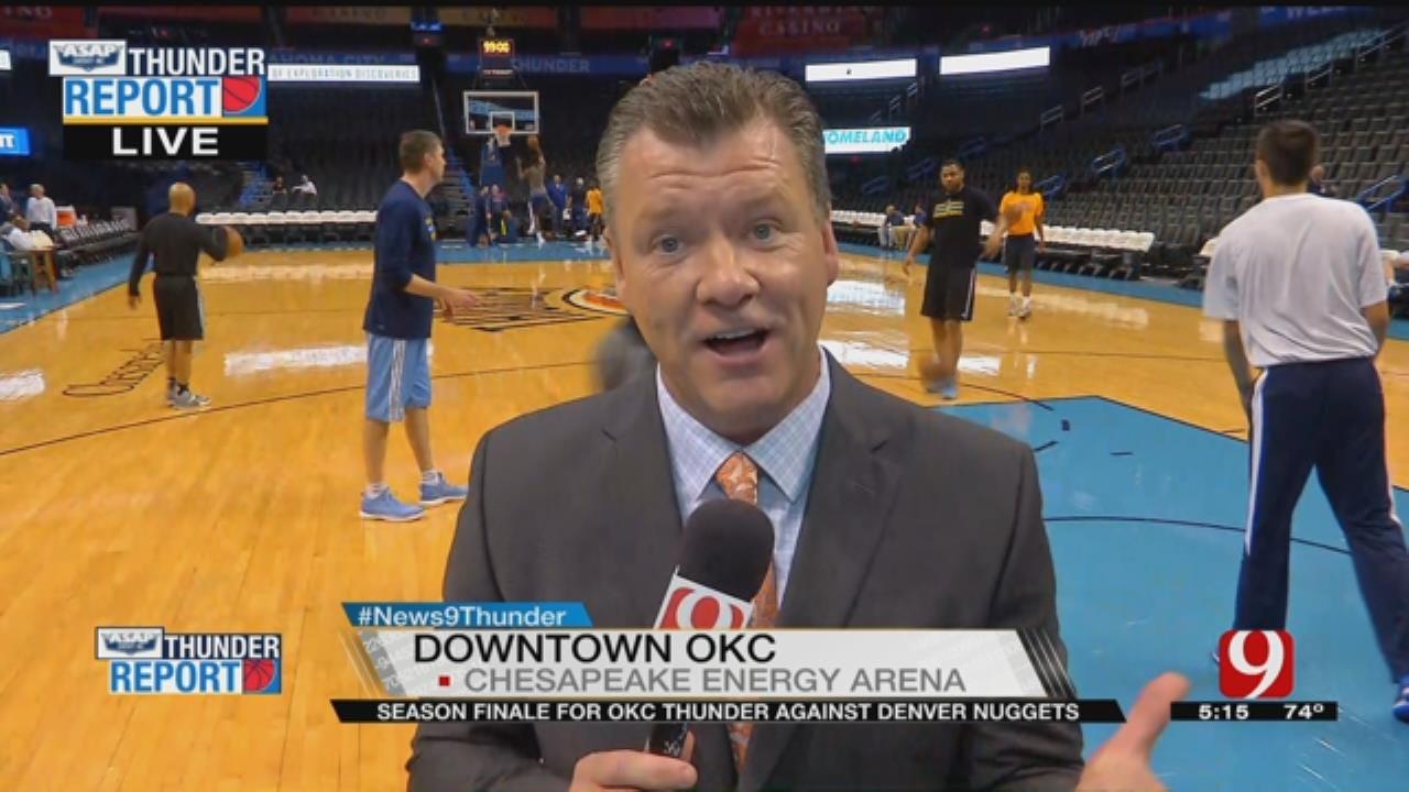 Thunder Closes Out Regular Season Against Denver
