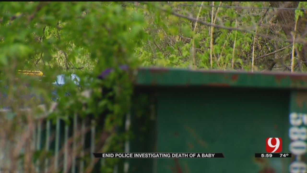 Enid Police Investigate After Baby's Body Found In Dumpster