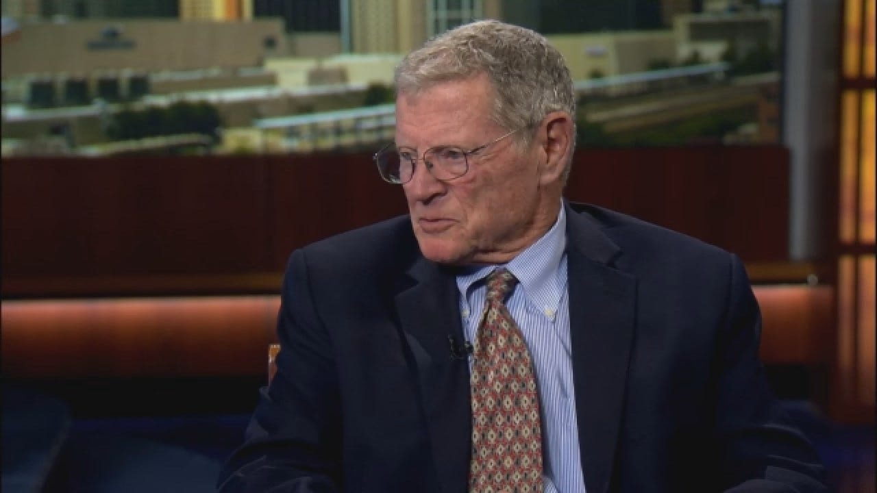"""Inhofe On Trump Travel Critics: """"It Shows How People Really Are Not Very Smart"""""""