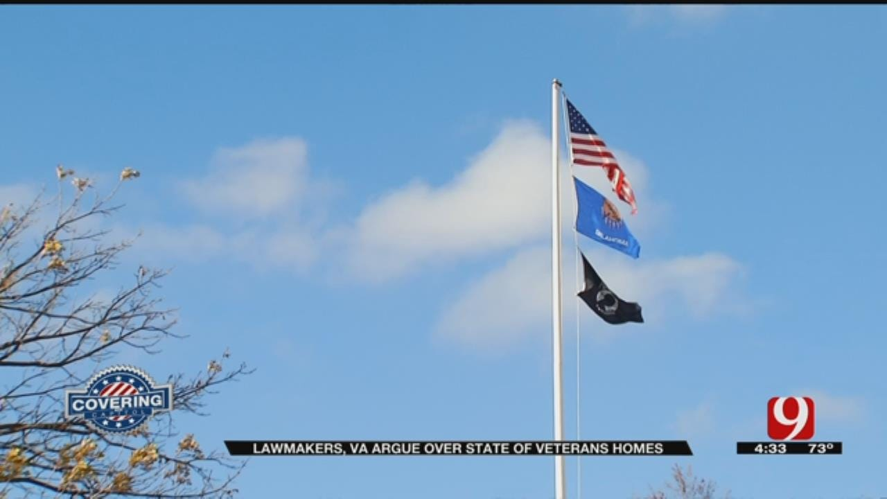 Oklahoma Lawmakers, VA Argue Over State Of Veterans Homes