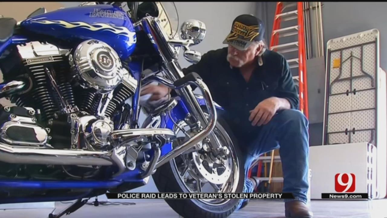 Police Raid Leads To Veteran's Stolen Property