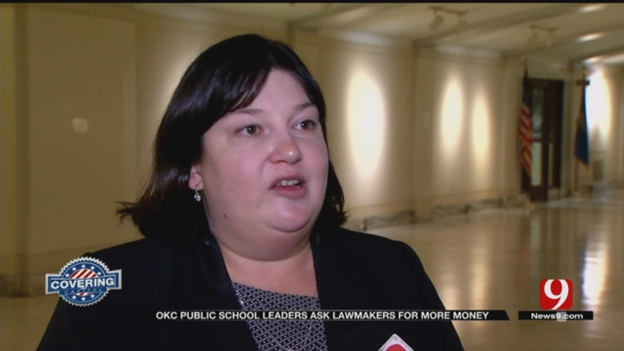 OKC Public School Leaders Ask Lawmakers For More Money