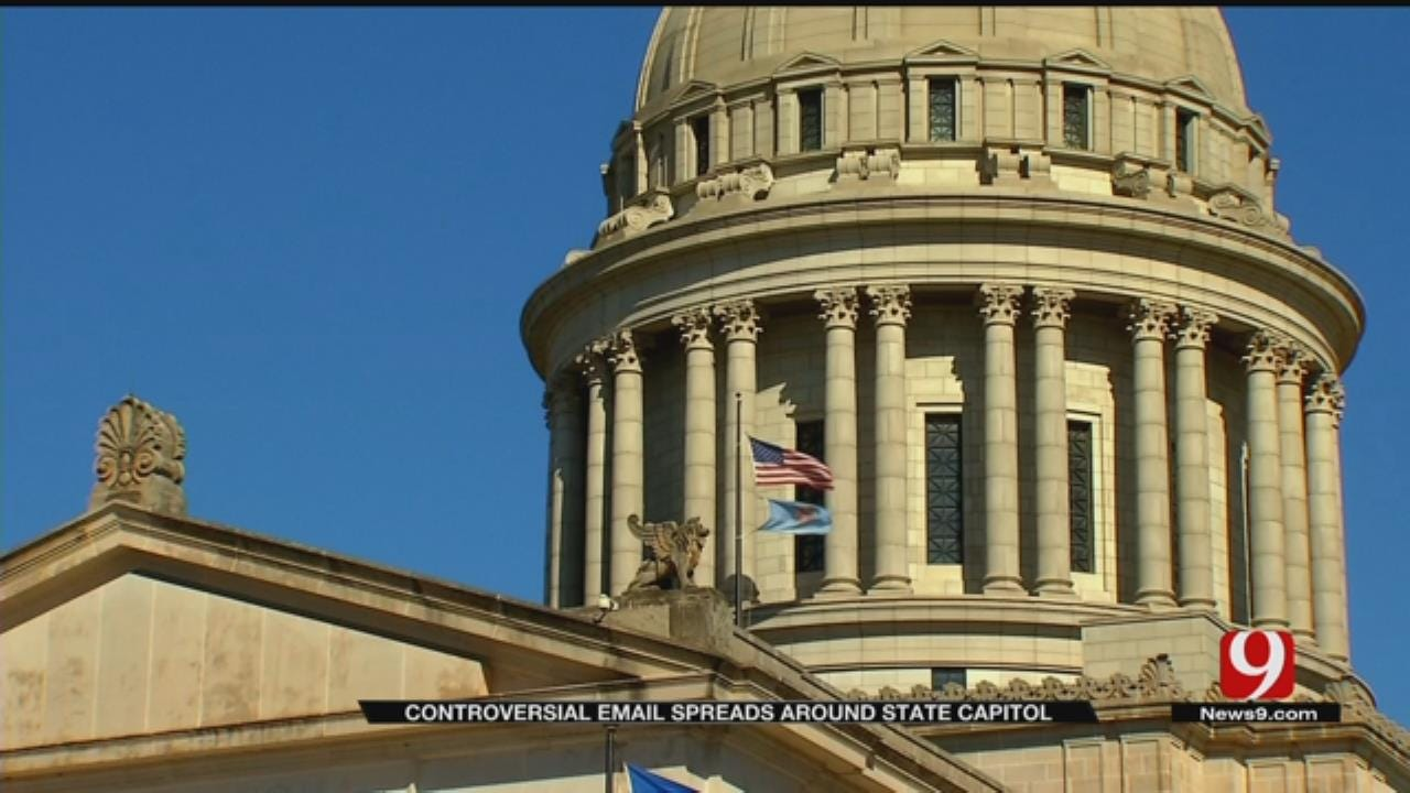 Controversy Swirls At State Capitol After Email