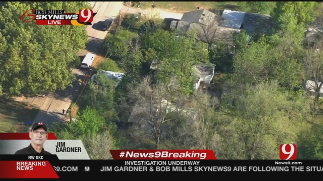 Excavation Begins Behind NW OKC Home In Connection With Carina Saunders Case