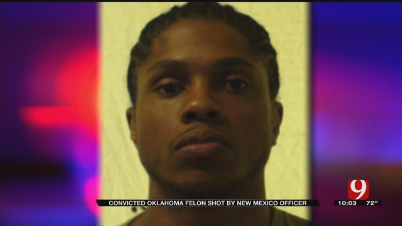 Oklahoma Felon Shot By New Mexico Officer