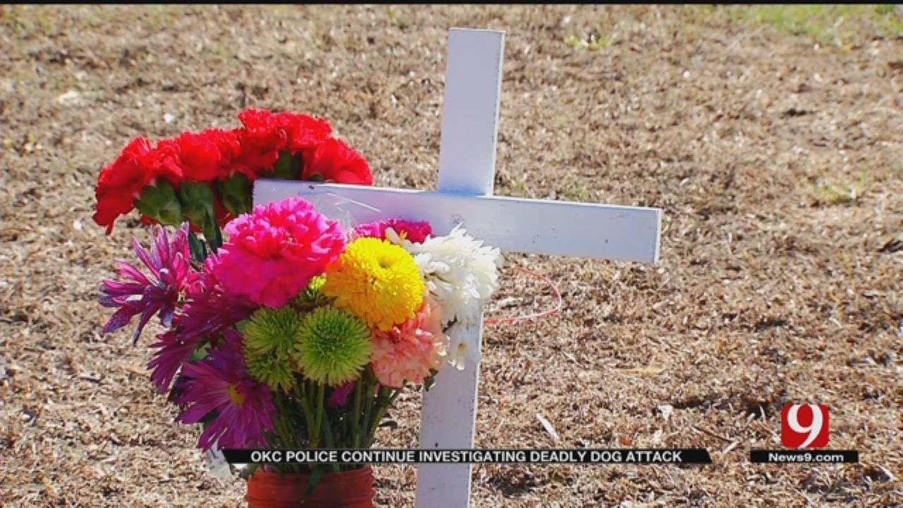 OKC Police Continue To Investigate Deadly Dog Attack