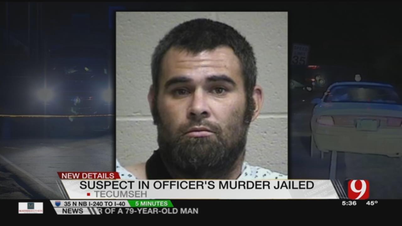 Suspect In Tecumseh Police Killing Now In Jail
