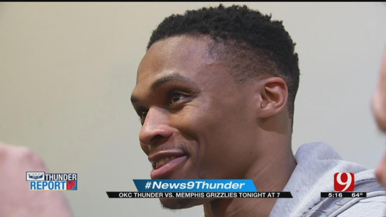 Thunder In Memphis For Matchup With Grizzlies