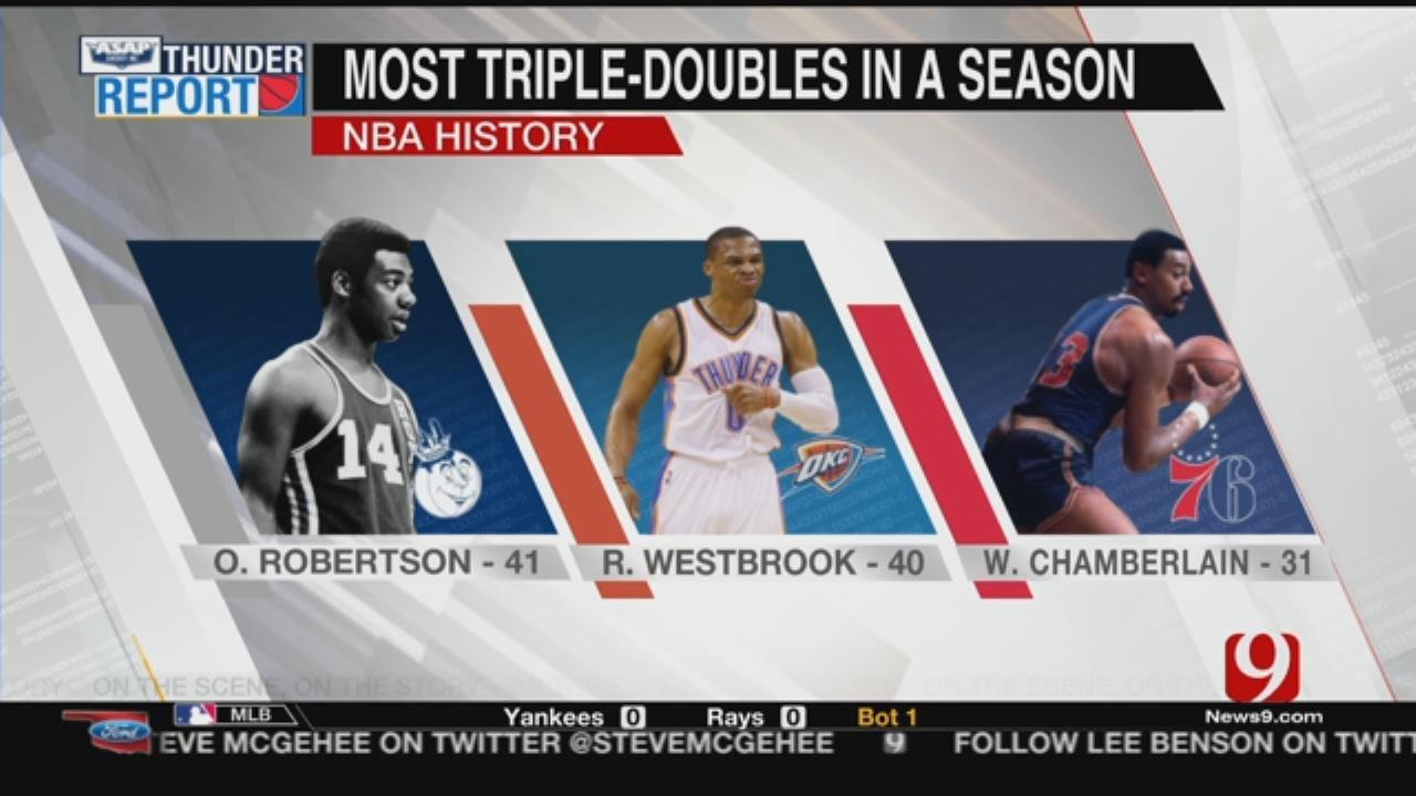 Thunder Hosts Bucks On Tuesday Night As Westbrook Eyes History
