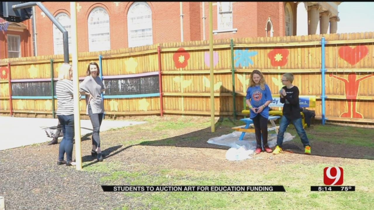 Metro Kids Paint To Raise Funds For Homeless School