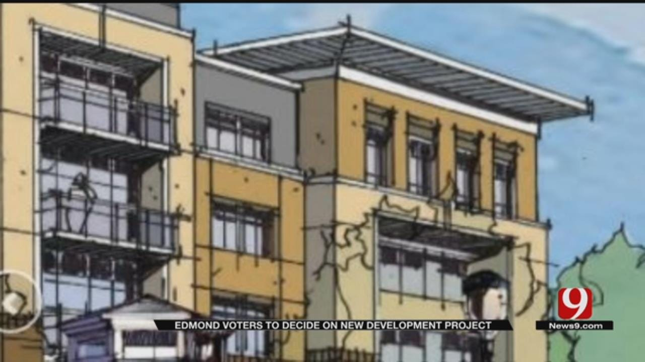 Edmond Residents To Vote Tuesday On Proposed Retail Development
