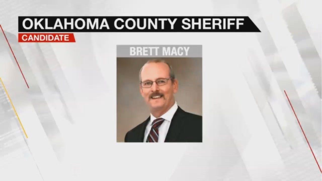 Oklahoma County Sheriff Republican Candidate Brett Macy
