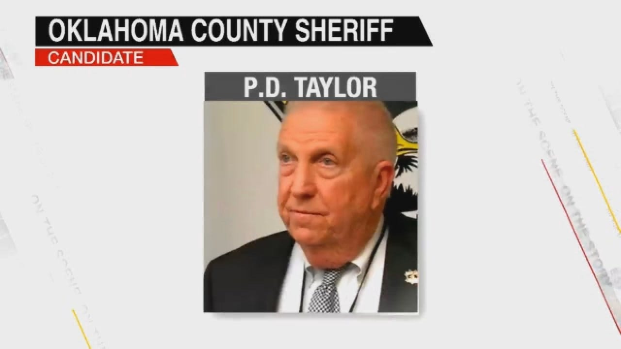 Oklahoma County Sheriff Republican Candidate P.D. Taylor