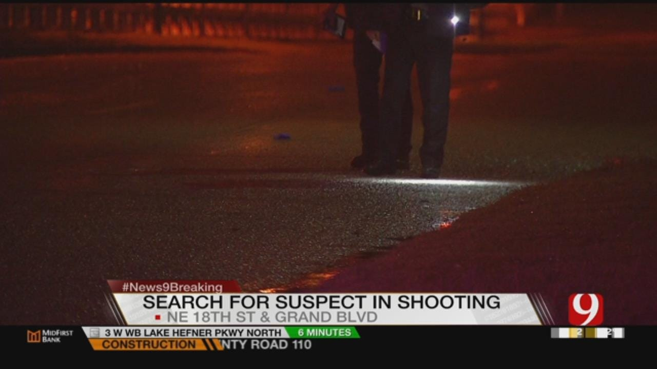 OKC Police Seek Drive-By Shooter Who Put Man In Hospital Overnight