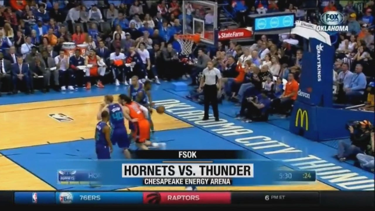 Thunder Fall To Hornets 113-101