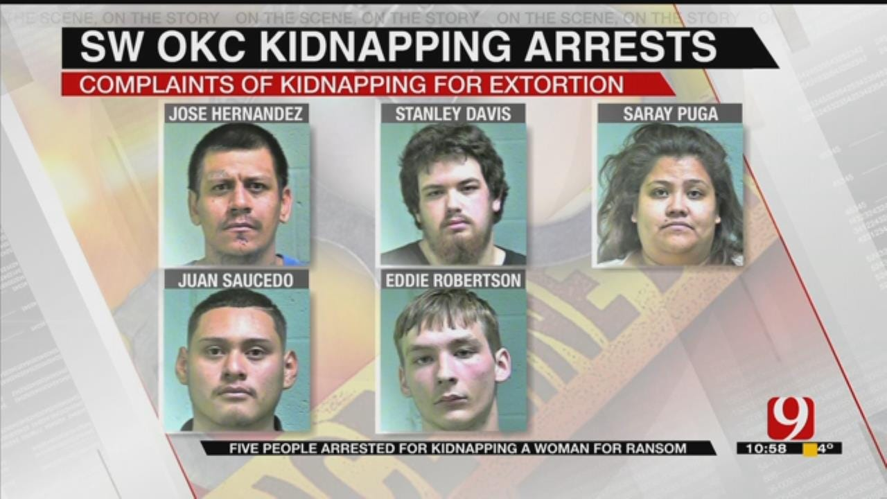 5 Arrested In Connection To Kidnapping In SW OKC