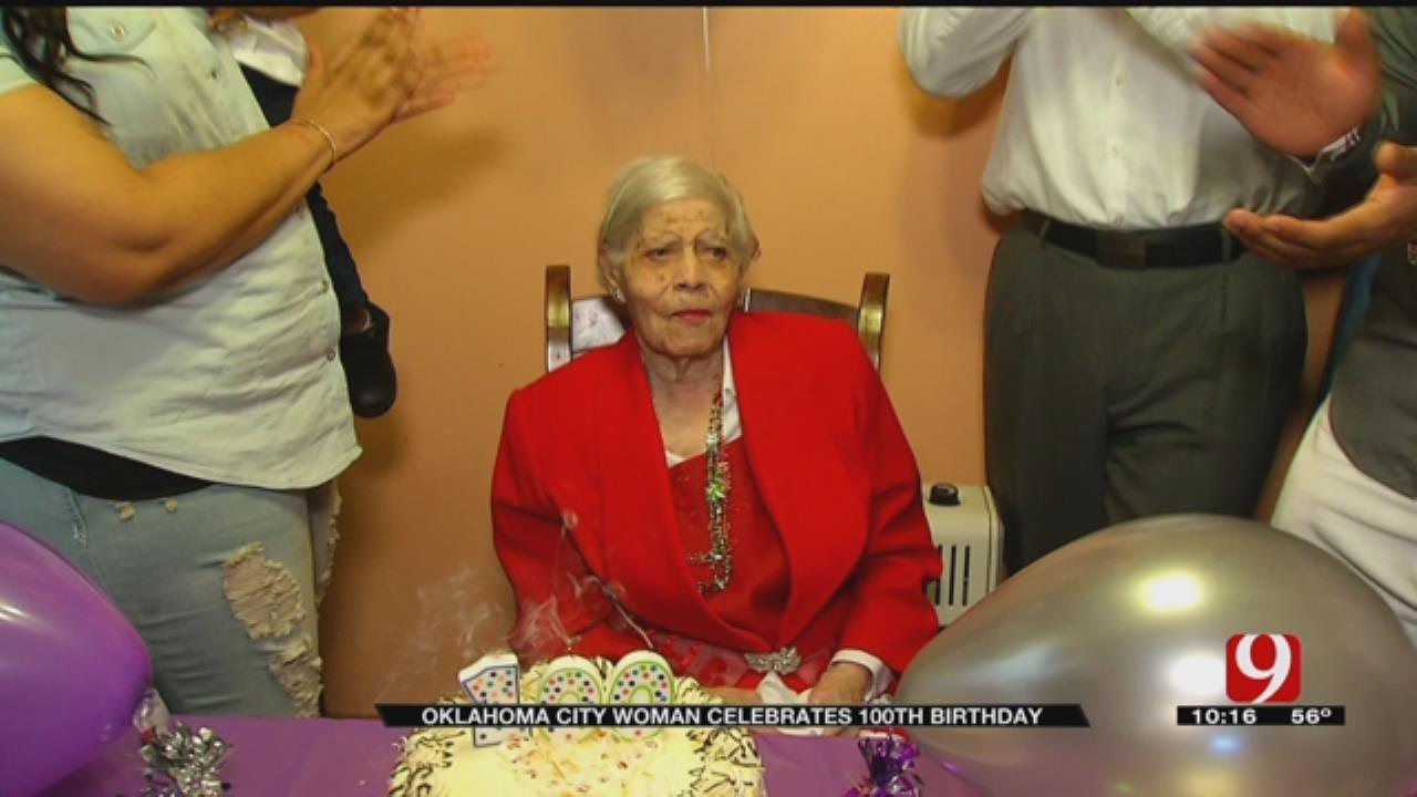 OKC Woman Celebrates 100th Birthday