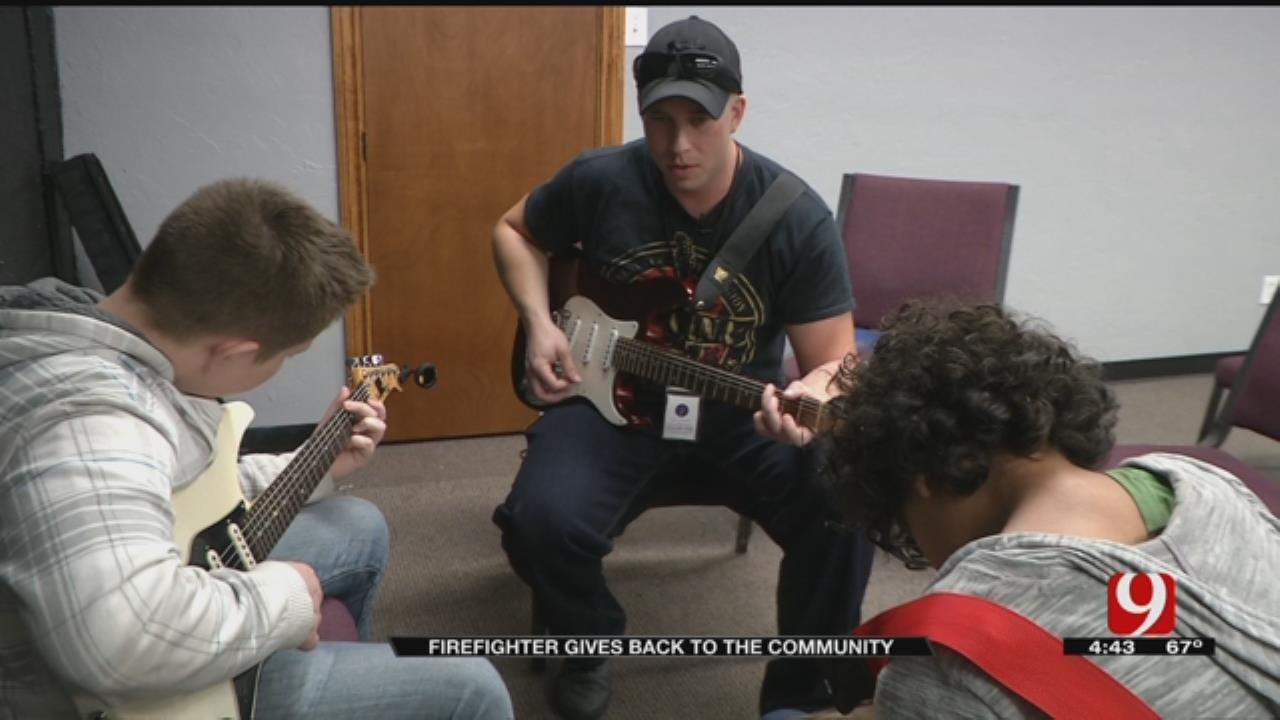 Warr Acres Firefighter Gives Back To The Community