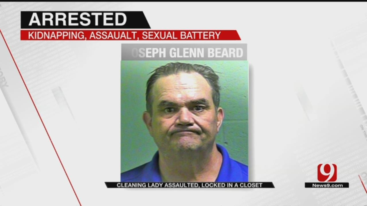 OKC Man Assaulted Woman, Locked Her In Closet, Police Say