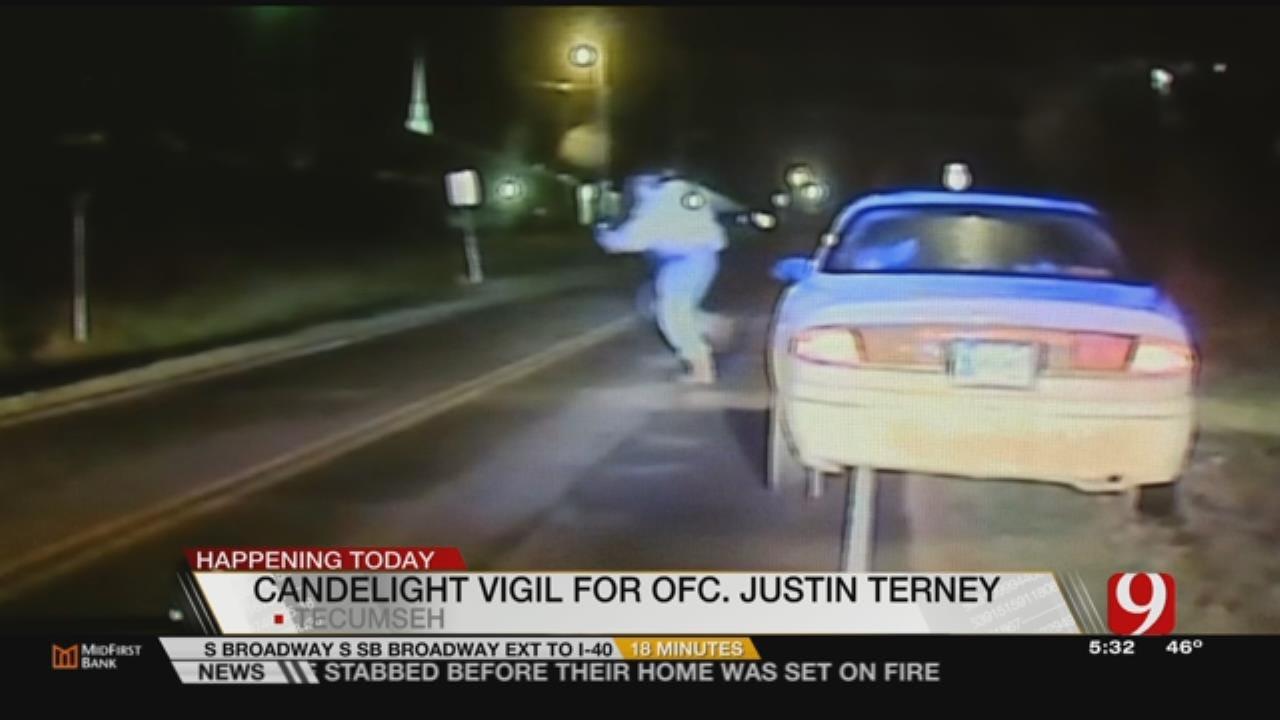 Memorial To Be Held Thursday For Fallen Tecumseh Officer