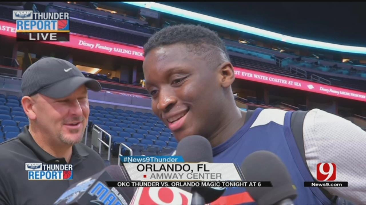 Thunder Continues Road Trip In Orlando