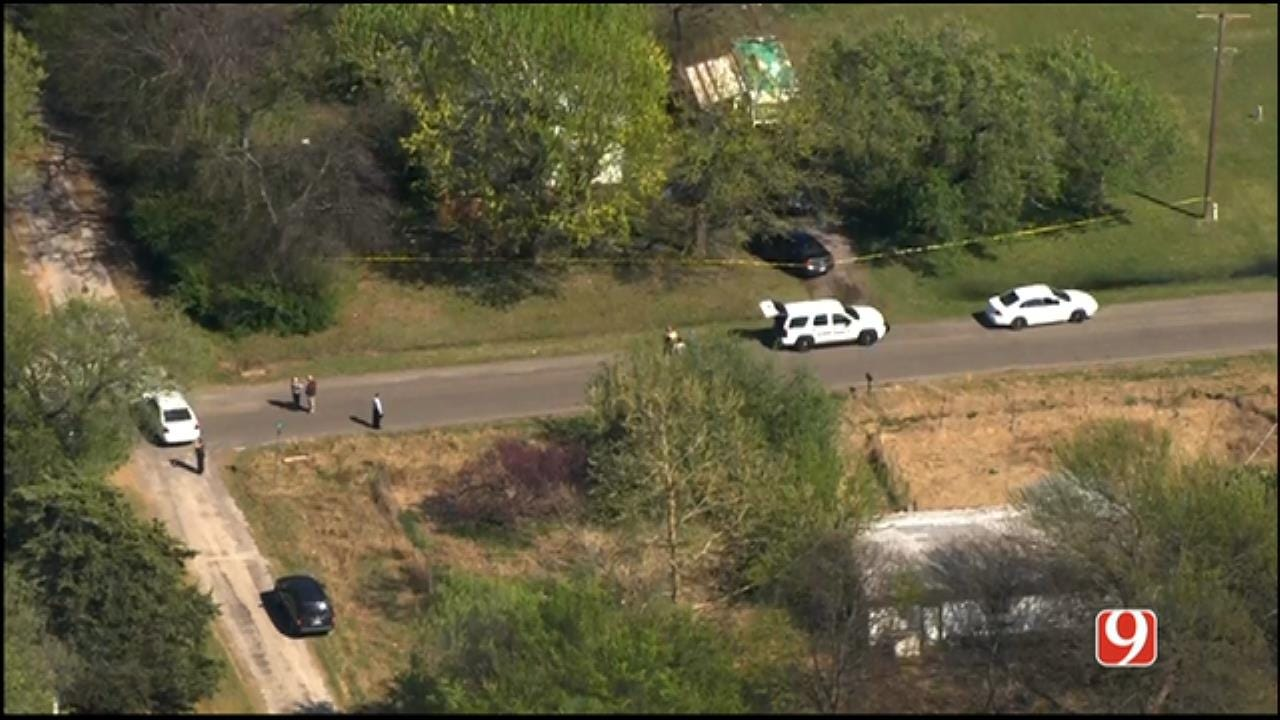 WEB EXTRA: SkyNews 9 Flies Over Deadly Officer-Involved Shooting In Byars