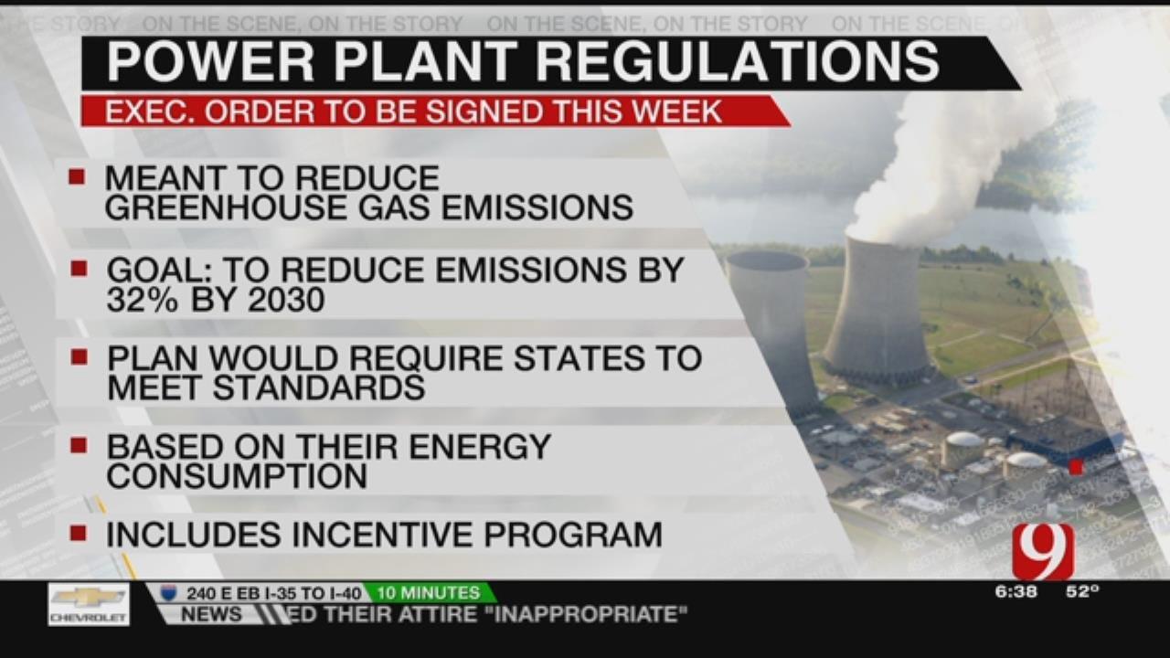 EPA Chief Says Trump Plans Executive Order Undoing Obama Clean Power Plan